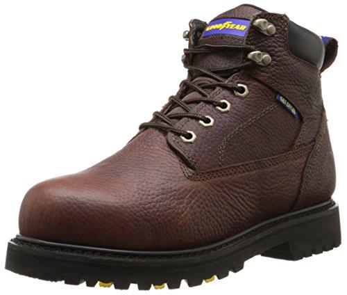 Goodyear Men's Daytona W Waterproof Soft Toe Work Boot, Briar, 10.5 M (Daytona Boot)