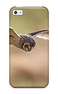 FiZIlWu2815HLkOB Tpu Phone Case With Fashionable Look For Iphone 5c - Short Eared Owl By Paul Mcmullen