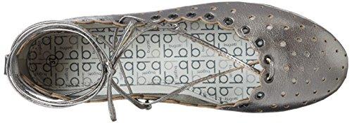 Altsilber Donna Ballerine Bugatti J06791l Argento 801 wISffEq7xC