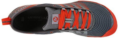 Glove Zapatillas 2 Para Grey Merrell spicy Vapor Running Hombre Orange Asfalto De BFW6q5H7