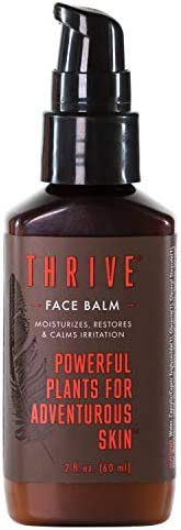 Thrive Natural Face Moisturizer – Non-Greasy Soothing Facial Moisturizer Lotion for Men & Women Made in USA with Natural & O