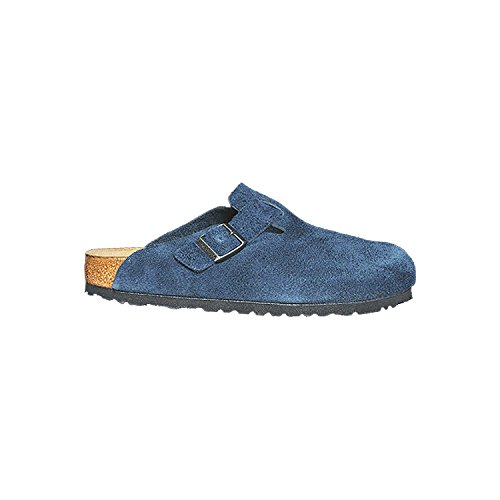 Birkenstock New Unisex Boston SF Clog Navy Suede 46 -