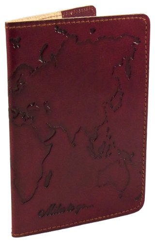 Fair Trade Handmade Genuine Leather Passport Cover