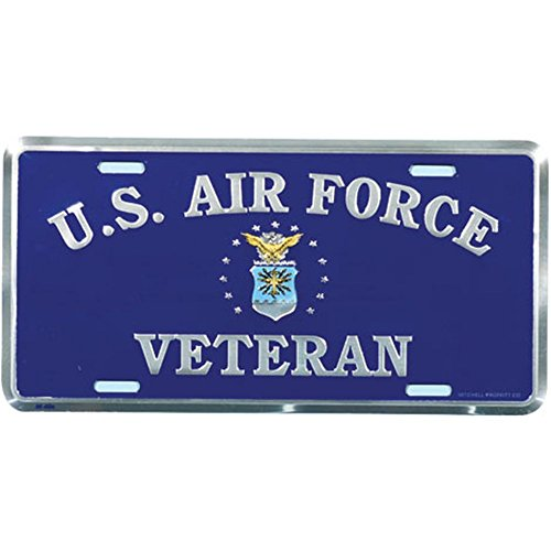 Air Force Plate - Honor Country US Air Force Veteran License Plate