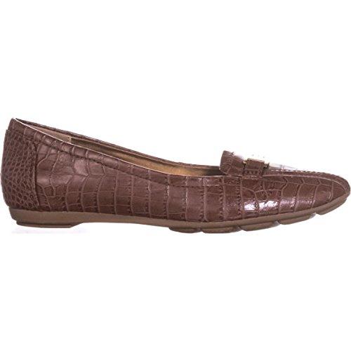 Giani Bernini Gb35 Jileese Tilfeldige Loafer Flatene - Mutter Krokodille