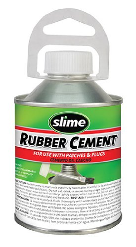 Slime 1050 Rubber Cement - 8 oz. by Slime