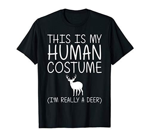 Diy Fawn Halloween Costume (Deer Easy Halloween Human Costume Fawn Elk Stag DIY Gift)
