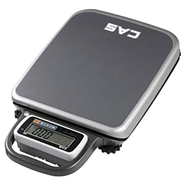 Image of Bench Scales CAS PB-300 PB Series Portable Bench Scale, 300 lbs Capacity, 0.1 lbs Resolution