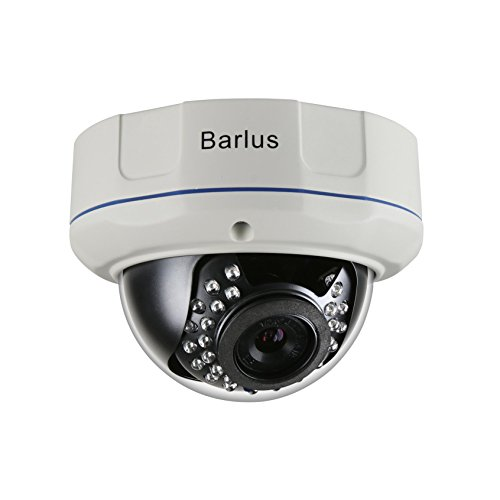 Barlus IK10 POE IP Dome Camera Indoor/Outdoor Weatherproof Security Camera Vandal Proof 2160P 4K Camera,8 Megapixel, IP66,25m Night Vision For Sale
