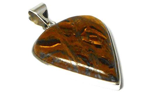 Oeil de tigre-Argent Sterling 925-Pendentif (TEPT1709152)