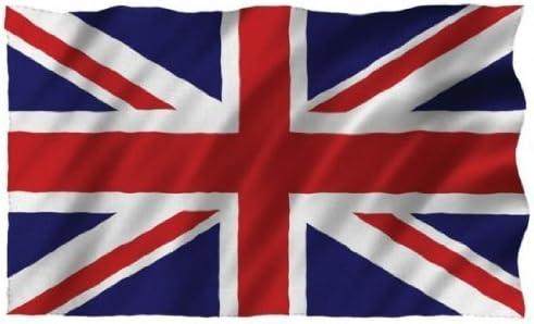 91,4/x/152,4/cm Flagmania Isuper Drapeau du Royaume-Uni en polyester