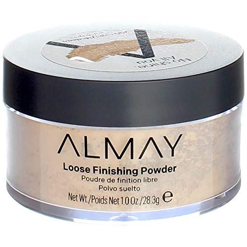 Almay Smart Shade Loose Finishing Powder, Light Medium [200] 1 oz (Pack of 2)