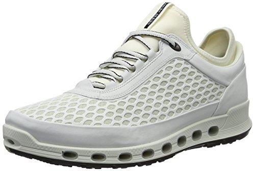 ECCO Men's Cool 2.0 Textile Gore-Tex Fashion Sneaker White, 46 EU/12-12.5 M US