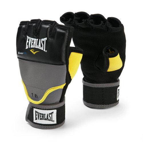 Everlast EverGel Weighted Grey Wraps (SmallMedium)