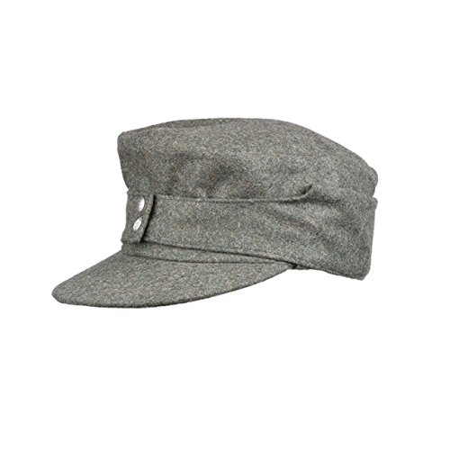 Heerpoint Reproduction Wwii Ww2 German Wh Em M43 panzer wool field Hat Cap (M)