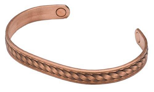 (Sabona Copper Rope Magnetic Bracelet, Size Large)