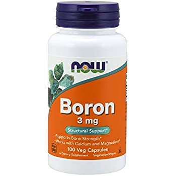 NOW Boron 3 mg,100 Capsules