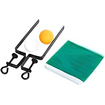 Table Tennis Set Chinese Ping Pong Suit 2 Balls + Net + Bracket Poles Sports Toy Fun