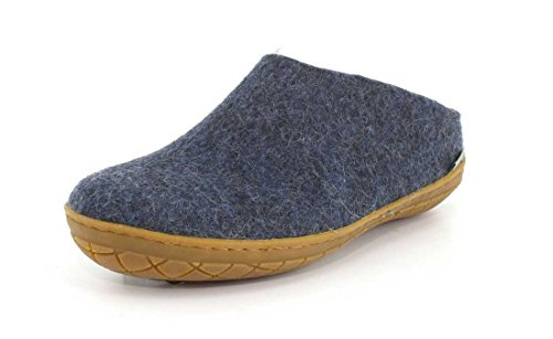 Glerups Unisex Model BR Denim Slipper - 45 by Glerups