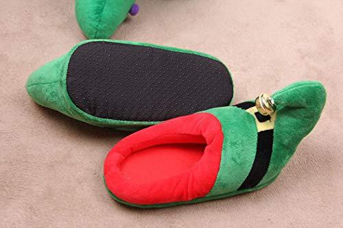 Printemps Chaudes Doux Flippers Rayure Porc Femmes Chaussures Mignon Floor Bascule Nikimi Home Filles Forme Femelle Vert Belle qHFzEZO