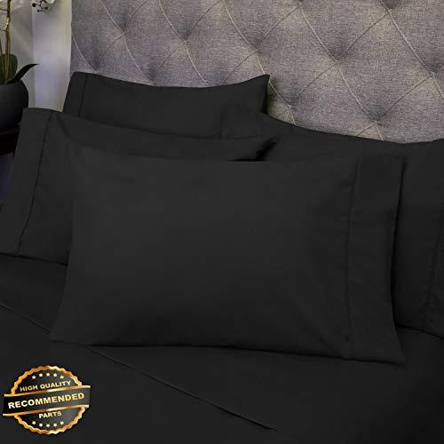 Gatton New Premium 6 Piece Bedroom Bed Sheet Set 1500 Thread Count Luxury Comfort Deep Pocket | LINENIENHM-182011601 Twin ()