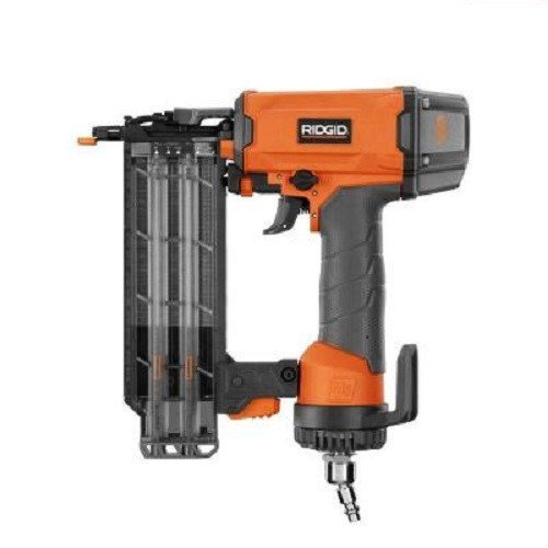 Ridgid R213BNE 2-1/8 in. 18-Gauge Brad Nailer ZRR213BNE (Renewed)