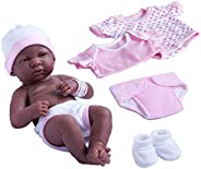 La Newborn Nursery 8 Piece Layette Baby Doll Gift Set