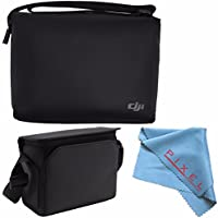 DJI Shoulder Bag for Spark CP.QT.001151 + Fibercloth Bundle