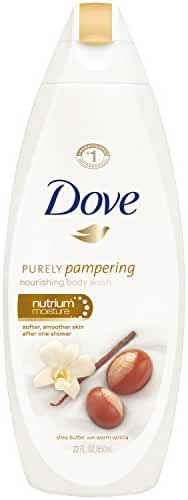 Dove Purely Pampering Body Wash, Shea Butter 22 oz