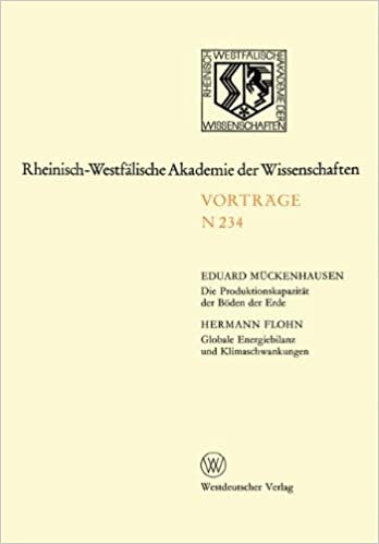 Exceptional Globale Energiebilanz Und Klimaschwankungen: 215. Sitzung Am 4. April 1973  In Düsseldorf ... Akademie Der Wissenschaften) (German Edition) (German)  1973rd ...