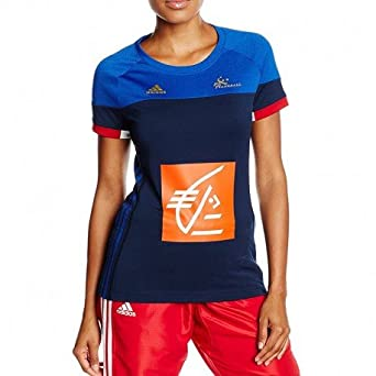 adidas FFHB Francia alas Mangas Camiseta, Todo el año, Mujer ...