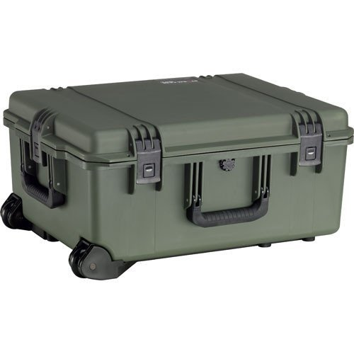 Pelican Products IM2720-30000 IM2720 HARD CASE OD GREEN WITH WHEELS WITHOUT FOAM