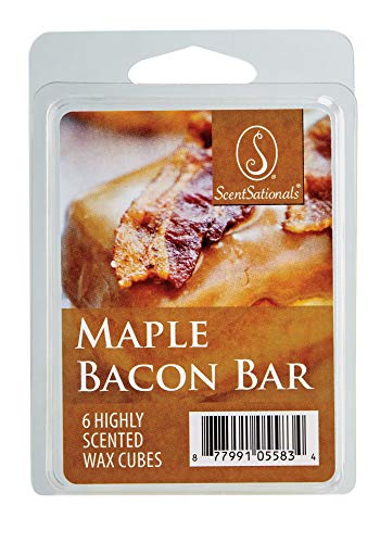 scentational Maple Bacon Bar 6 Highly Scented Wax Cube(Pack of 2) Total 12 -