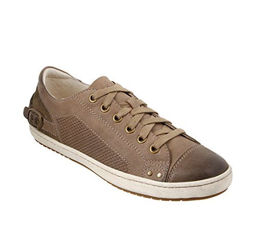 Taos Footwear Women's Capitol Taupe Oiled 8 B (M) US by Taos Footwear