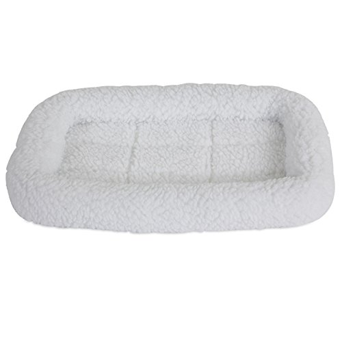 SNOOZZY SHEEPSKIN 17.5X11.5 BOLSTER CRATE MAT (Best Time To Travel To Charleston Sc)