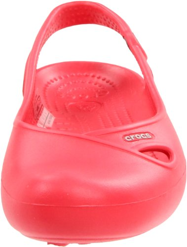 Crocs Olivia, Ballerines femme Rouge (Red)
