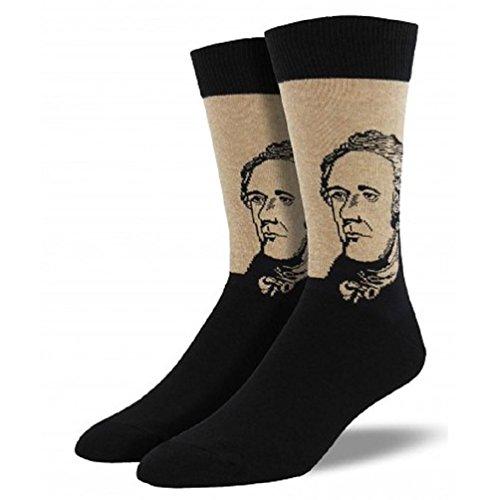 Socksmith Mens Novelty Crew Socks Hamilton-Hemp
