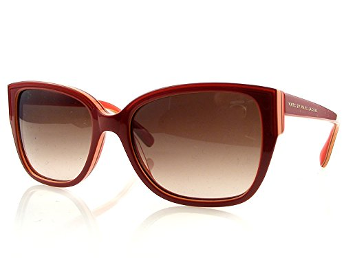 Marc By Marc Jacobs Women's 238 Red/Yellow/Pink Frame/Brown Gradient Lens Plastic Sunglasses ()