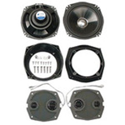 J&M HIGH PERFORMANCE UPGRADED SPEAKERS 7 1/4 FAIRING SPEAKERS FOR 06-13 FLHT FLHX MODELS (HCSK-7252GTM)