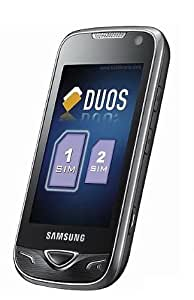 Samsung B7722 Dual SIM Unlocked GSM Phone with 5 MP Camera, Touch Screen, Wi-Fi, MP3 and Micro SD Memory Extension--International Version with No U.S. Warranty (Black)