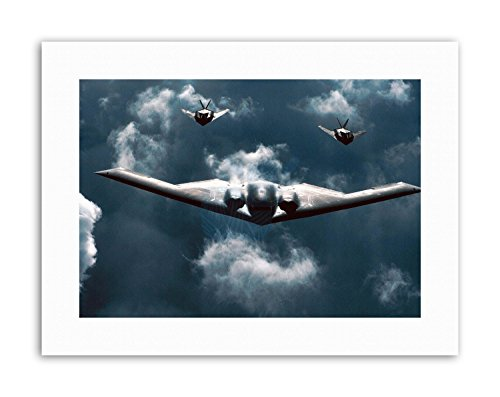 - Wee Blue Coo Military AIR Plane B-2 Spirit Bomber F-117 Nighthawk Stealth Canvas Art Prints