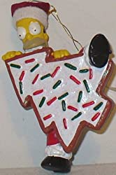 Homer Simpson Christmas Ornament (2004 Editionnew)