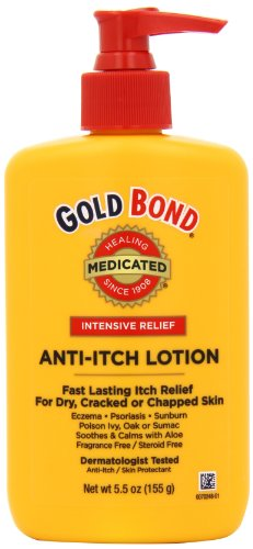 Bond Medicine - Gold Bond Anti Itch Lotion 5.5oz, Bottles (Pack of 2)