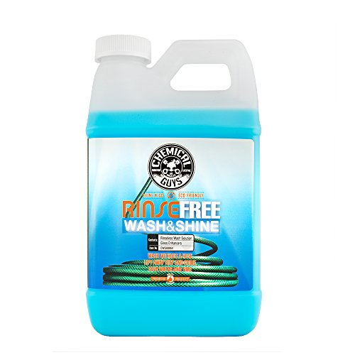 Chemical Guys CWS88864 Rinse Shine, The Hose Free Rinseless Car Wash (64 oz), 64. Fluid_Ounces ()