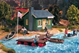 PIKO G SCALE MODEL TRAIN BUILDINGS - BAIT & TACKLE SHOP - 62103 by Piko