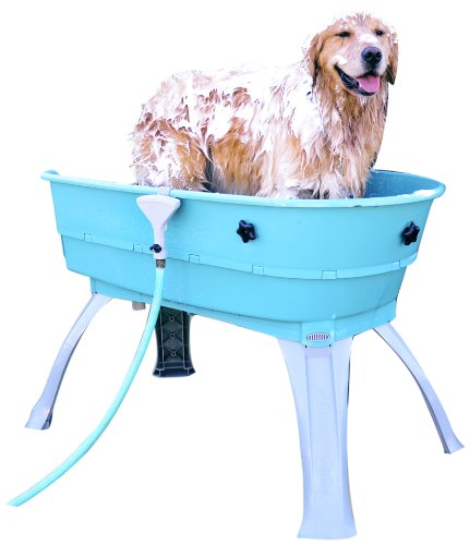 Elegant Amazon.com : Booster Bath Elevated Pet Bathing Large : Pet Shower And Bath  Supplies : Pet Supplies