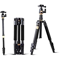G-raphy Professional Portable Aluminum Alloy Tripod DSLR Camera Tripod Monopod & Ball Head with Carry Bag