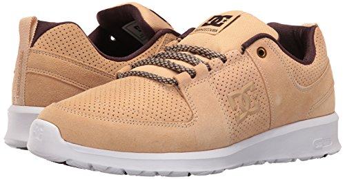 DC Men's Lynx Lite Skateboarding Shoe, Tan, 11 M US