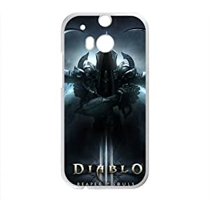 DAZHAHUI DIABLO 3 Reaper of Souls Cell Phone Case for HTC One M8