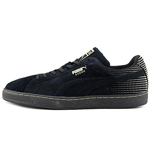 Fashion Sneakers Fade Men's Black Suede Metallic Puma 06wpCqn